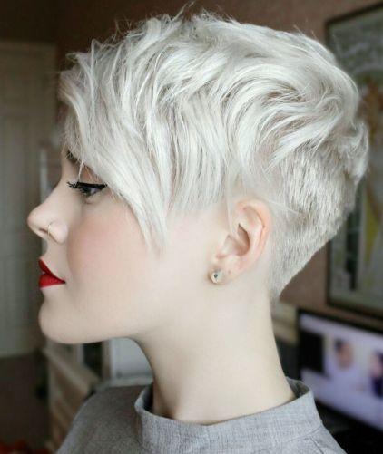 Uneven-Undercut-Pixie 12 Trendy Pixie haircut ideas for your next cut