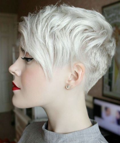 Uneven-Undercut-Pixie 12 Trendy Pixie haircut ideas for your next cut