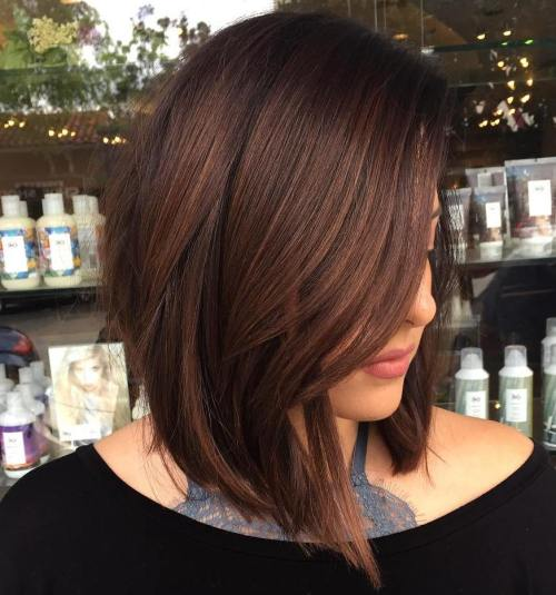 Wavy-High-Low-Bob Most Hottest and Sexiest Long Bob Haircuts