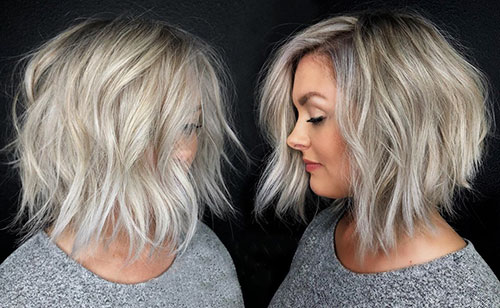 Wavy-Inverted-Bob-Cut Newest And Perfect Lob Styles