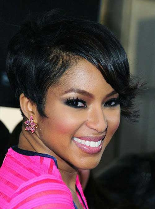 Alicia-Quarles's-Very-Short-Black-Hairstyle Naturally Short Hairstyles for Beautiful Black Women