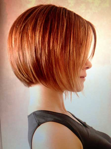 Awesome-Ginger-Beautiful-Bob-for-Girls Gorgeous Layered Cut Bob Hairstyles