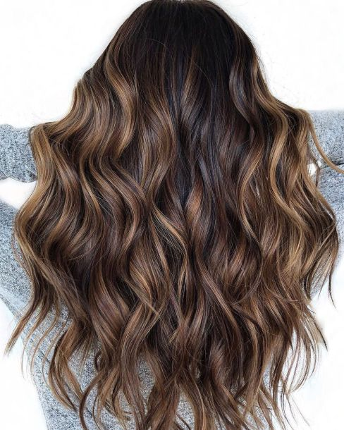 Black-Hair-with-Chocolate-Brown-Balayage Balayage and Everything About This Trendy Hair Color