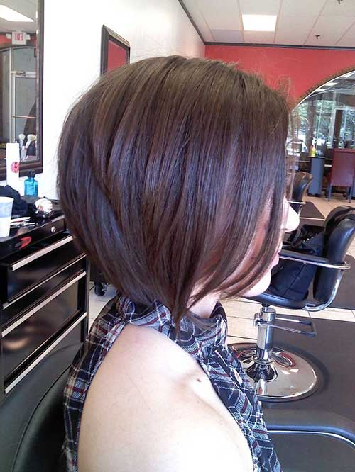 Bob-a-Line-Haircut-for-Thick-Hair Best Ways to Sport Bob Hairstyles with Thick Hair