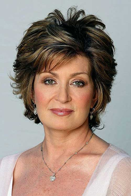Casual-Older-Women-Short-Hair 20 Awesome Short Haircuts for Older Women