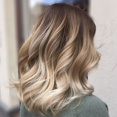Cool-Toned-Blonde-Colormelt Balayage and Everything About This Trendy Hair Color