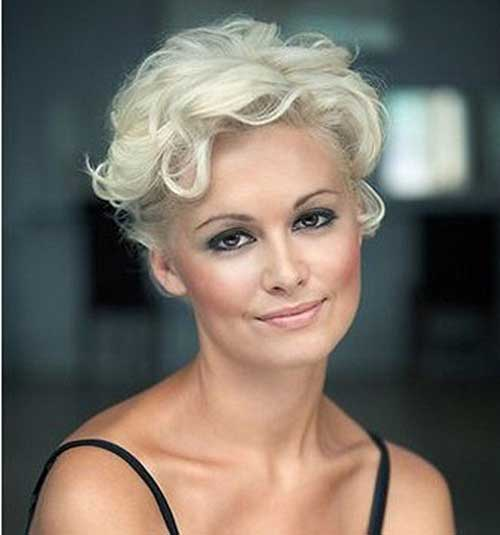 Curly-Hairstyle Most Beloved Short Hair Styles for Older Women