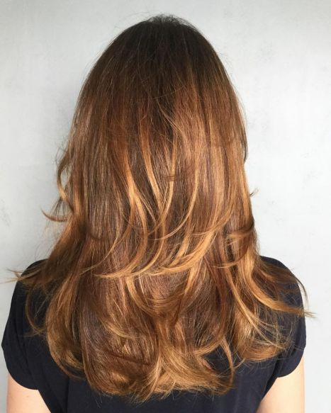 Cute-Surface-Layers-for-Long-Hair 12 Stunning Hairstyles for Long Fine Hair