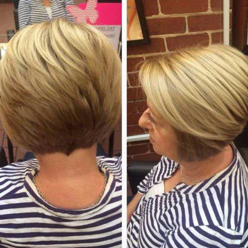 Different-Short-Hairstyle Most Beloved Short Hair Styles for Older Women