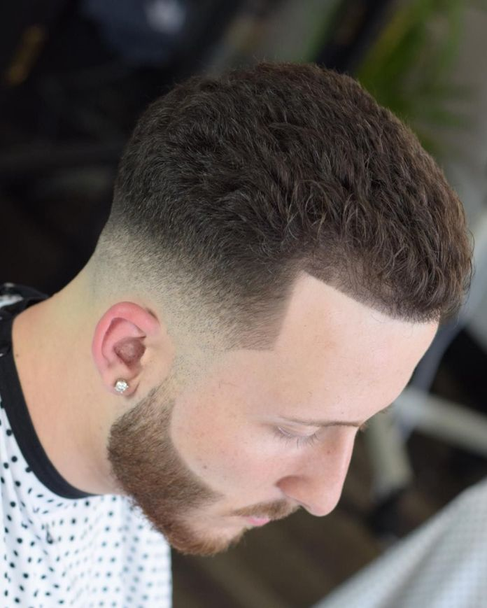 Fade-with-Curls Most Trendy Looks of Short Fade Haircuts
