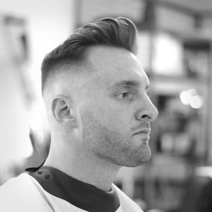 Faux-Hawk-Fade-Cut Most Trendy Looks of Short Fade Haircuts