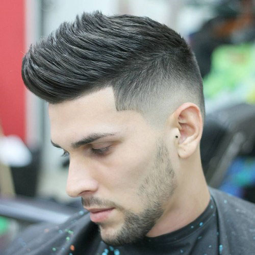 Faux-Hawk 10 Best hairstyles for men with thick hair 2020