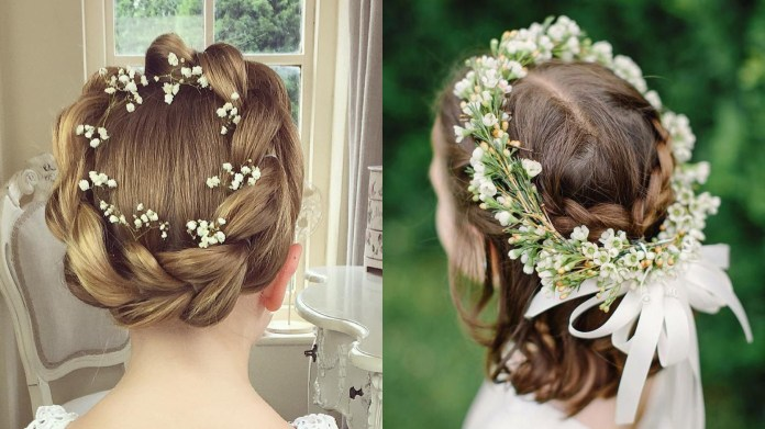 Flower-Girl-Hairstyles Most Cutest Flower Girl Hairstyles