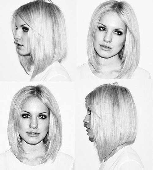 Growing-Out-Bob-Style-with-Bangs-Short-Hair Best Ways to Sport Bob Hairstyles with Thick Hair