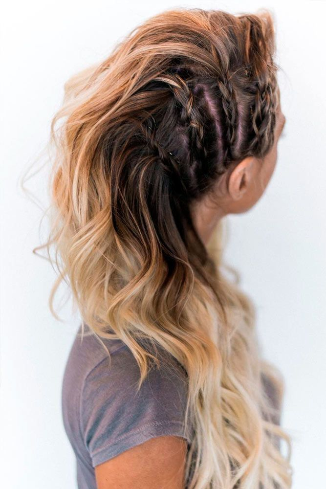 Inverted-Side-Braids Braids Hairstyles 2020 for Ultra Stylish Looks