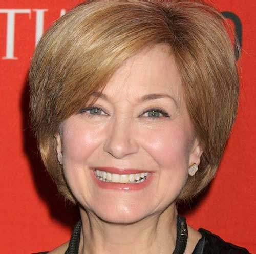 Jane-Pauley Most Beloved Short Hair Styles for Older Women