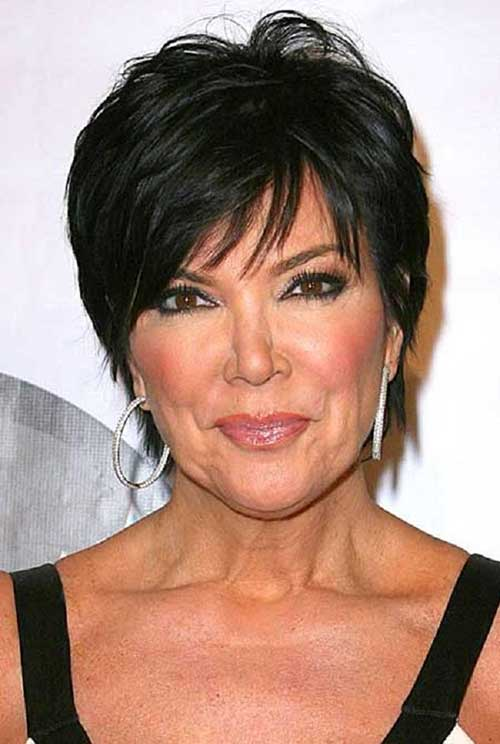 Kris-Jenner-Hair-for-Older 20 Awesome Short Haircuts for Older Women