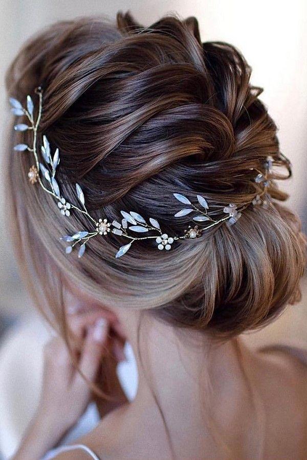 Layered-Hairstyle Ultra Modern Wedding Hairstyles 2020