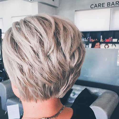 Layered-Short-Hair-Style Super Short Haircuts for Women