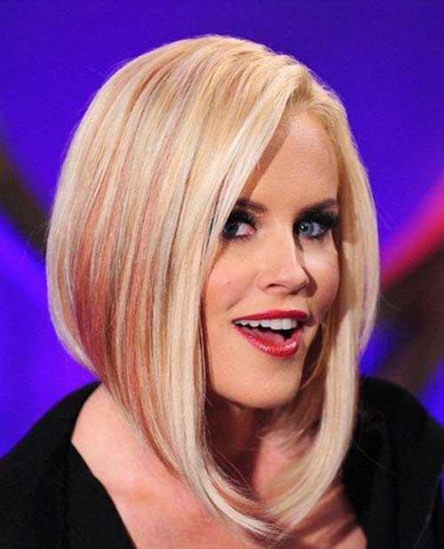 Long-Asymmetrical-Blonde-Bob-Cut Asymmetric Bob Hairstyles 2020