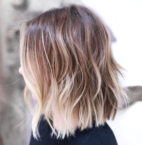 Long-Bob-with-Layers 14 Mind-Blowing Haircuts for Thin Hair