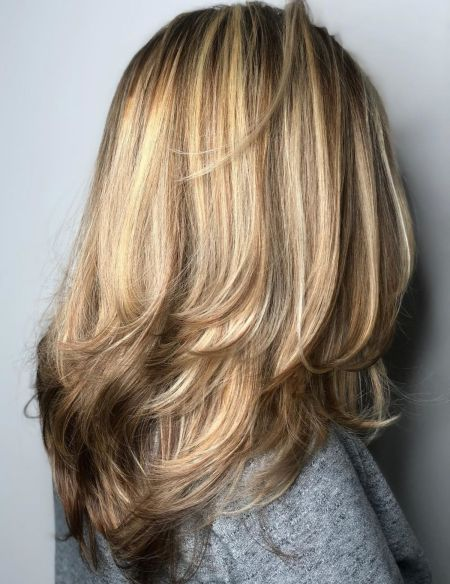 Long-Feathered-Cut-for-Thick-Hair 15 Trendy Long Haircuts For Women In 2020