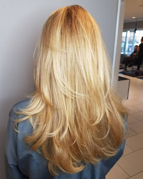 Long-Feathered-Layers-for-U-Shaped-Cut 15 Trendy Long Haircuts For Women In 2020