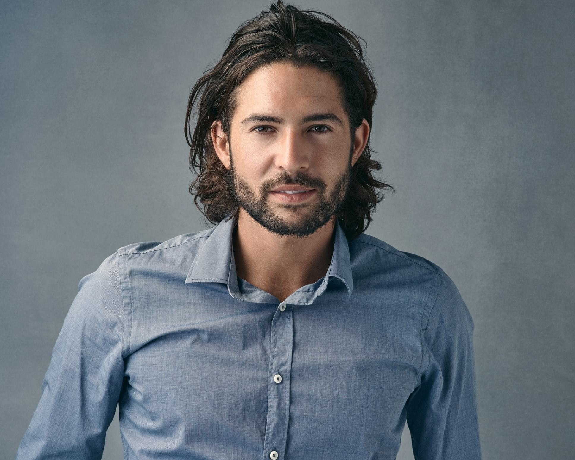 Long-Hair-and-Thick-Pomade Modern Hairstyles for Men to Look Awesome