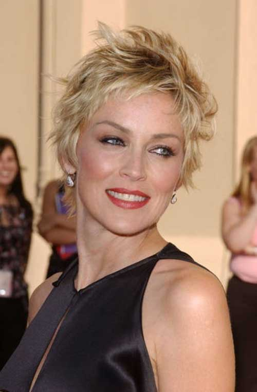 Messy-Pixie-Style-for-Older 20 Awesome Short Haircuts for Older Women