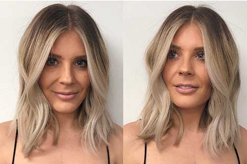 Ombre-Short-Blonde-Hair Super Short Haircuts for Women
