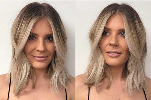 Ombre-Short-Blonde-Hair Super Short Haircuts for Women