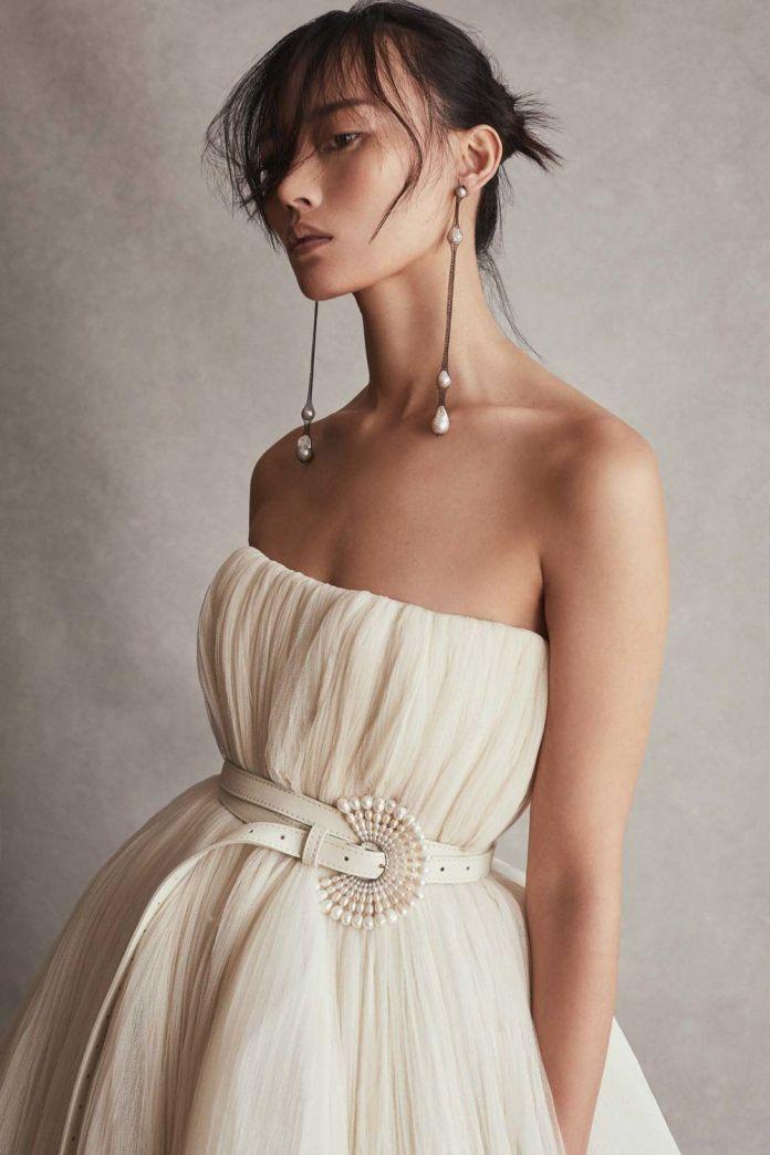 Pixie-Bun-Haircut Ultra Modern Wedding Hairstyles 2020