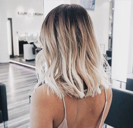 Popular-Balayage-Hair-Color-Ideas-009-ohfree.net_ Popular Balayage Hair Color Ideas for Short Hair