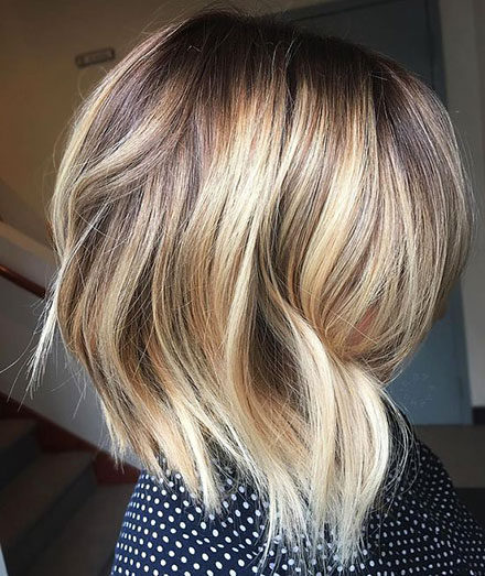 Popular-Balayage-Hair-Color-Ideas-015-ohfree.net_ Popular Balayage Hair Color Ideas for Short Hair