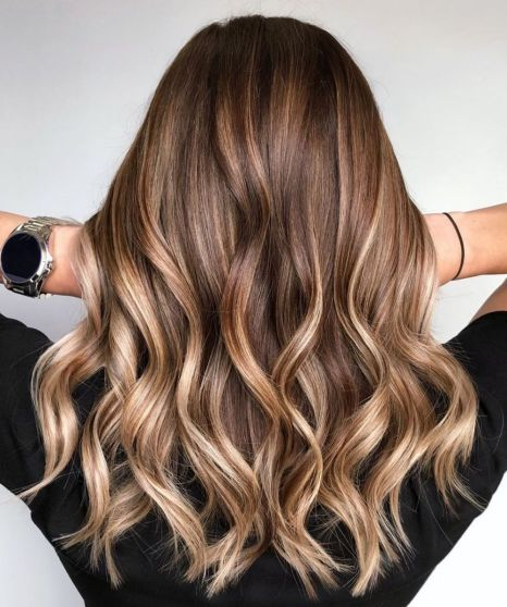 Shiny-Golden-Bronde-Balayage-Hair Balayage and Everything About This Trendy Hair Color