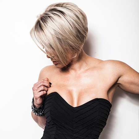 Short-Blonde-Voluminous-Bob New Bob Hairstyles 2020