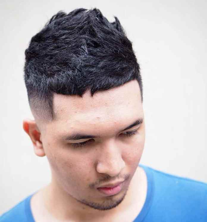 Short-Cropped-Hair-with-Fade Dashing Korean Hairstyles for Men