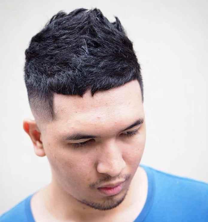 Short-Cropped-Hair-with-Fade Dashing Korean Hairstyles for Men