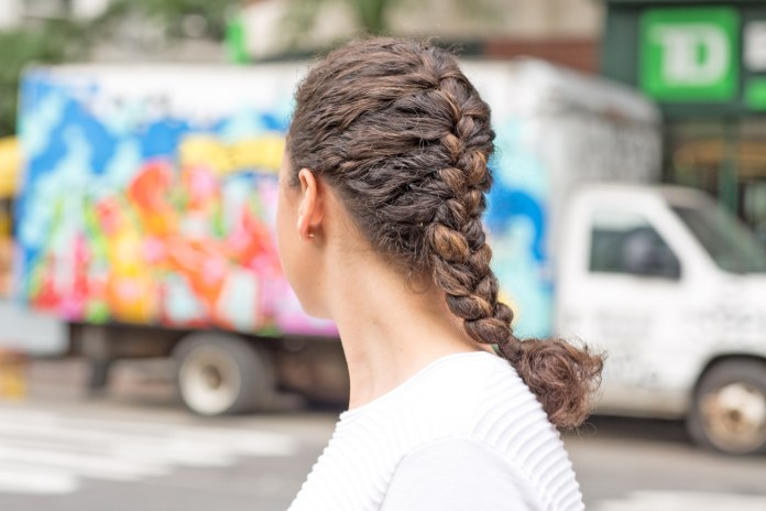 Simple-French-Braid-Hairstyle Most Amazing Medium Braided Hairstyles