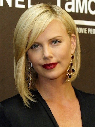 Sleek-Side-Bangs-Blonde-A-line-Bob-Haircut 15 Hottest bobs hairstyles to try in 2020