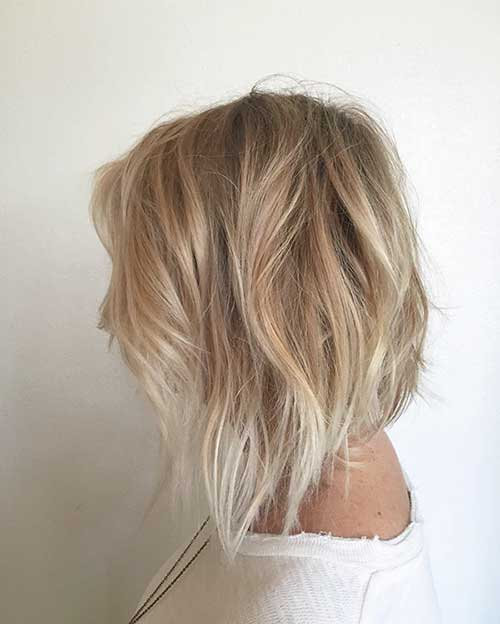 Soft-Wavy-Short-Hairstyle Super Short Haircuts for Women