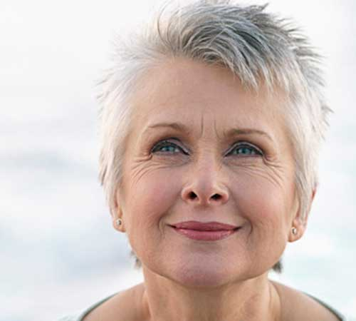 Spiky-Pixie Beautiful Short Haircuts for Older Women