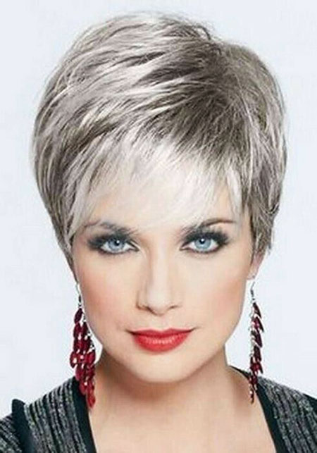 Straight-Hair 19 Great Pixie Haircuts for Older Women
