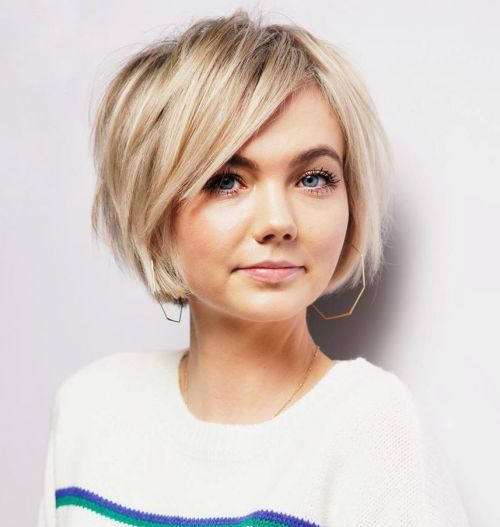 Textured-Bob 12 Flattering Chin-Length Hairstyles You Need to Try