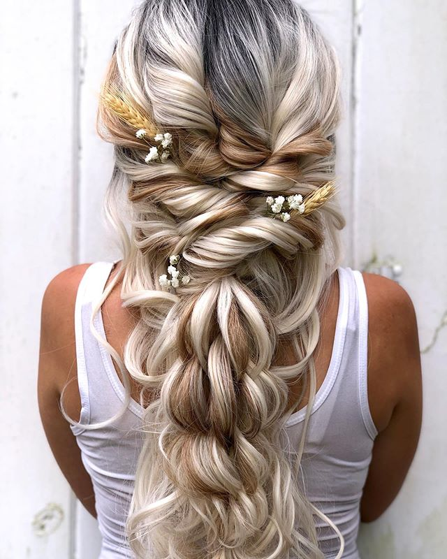 The-Rapunzel-Hairstyle Ultra Modern Wedding Hairstyles 2020
