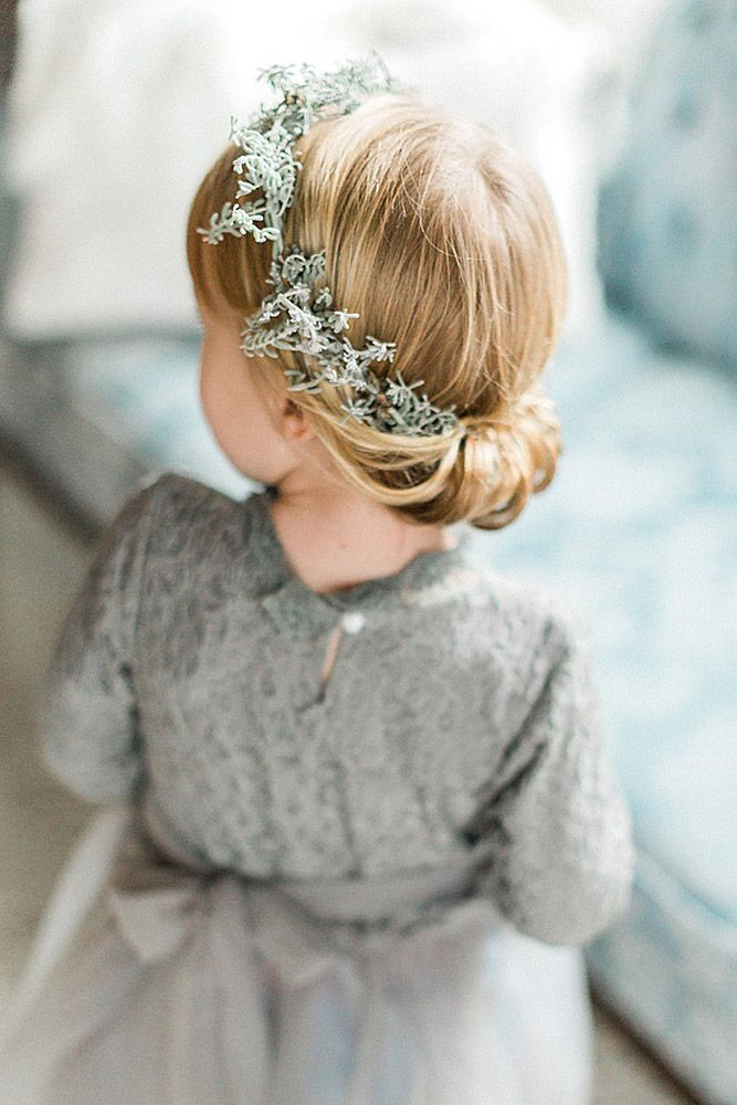 Tiara-Hairstyle Most Cutest Flower Girl Hairstyles