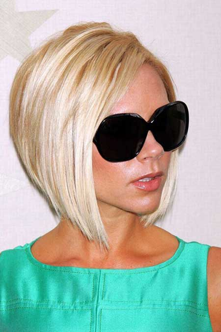 Victoria-Beckham's-Classic-Bob-Hairstyle Gorgeous Layered Cut Bob Hairstyles