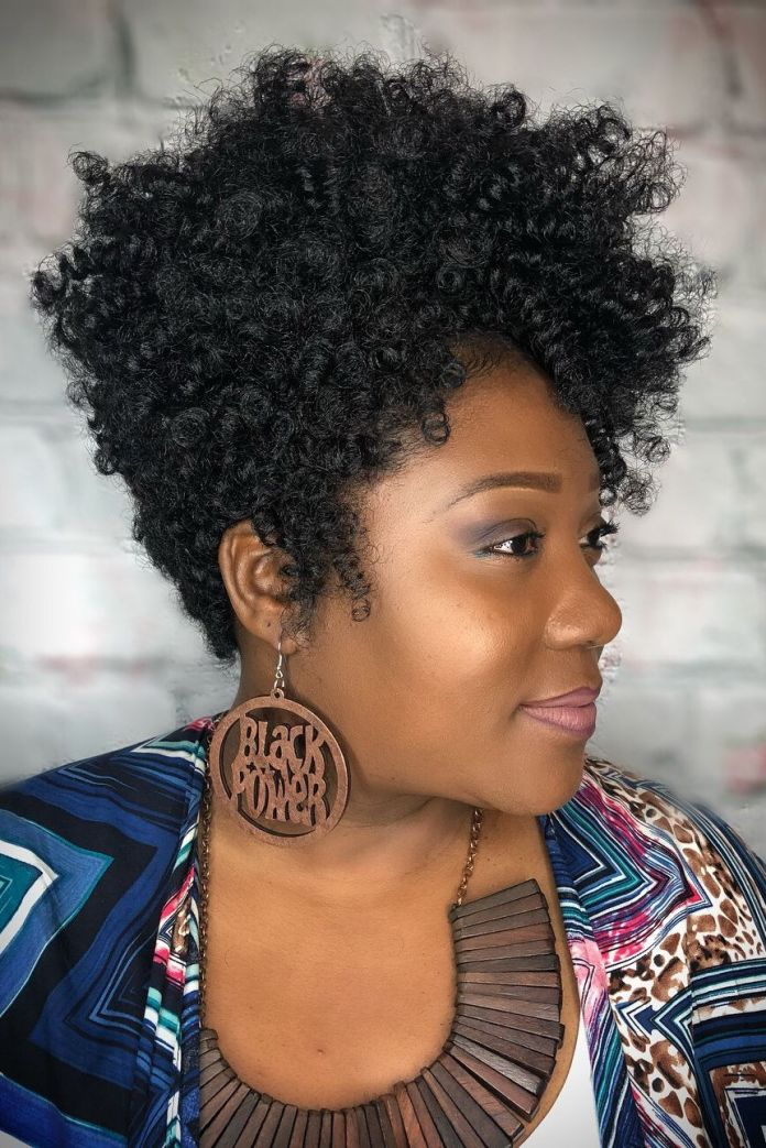 Voluminous-Pixie 10 Trendy Crochet Hairstyles to Rock in 2020