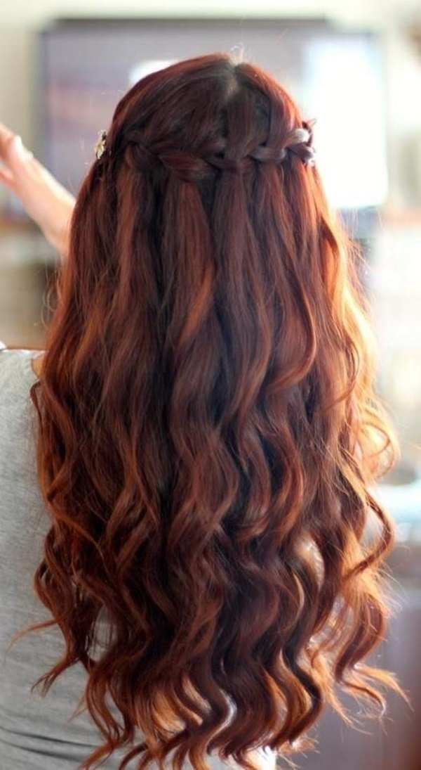 Wavy-Braided-Hairstyle Long Braided Hairstyles to Look Beautiful as Never Before