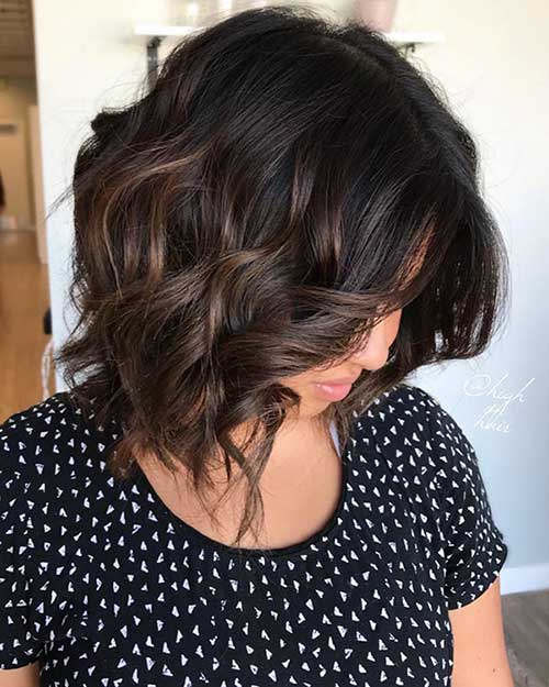 Wavy-Curly-Short-Hair Super Short Haircuts for Women